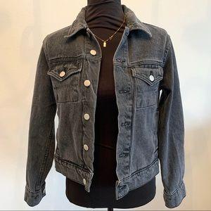 American Apparel Denim Jacket Size xxs